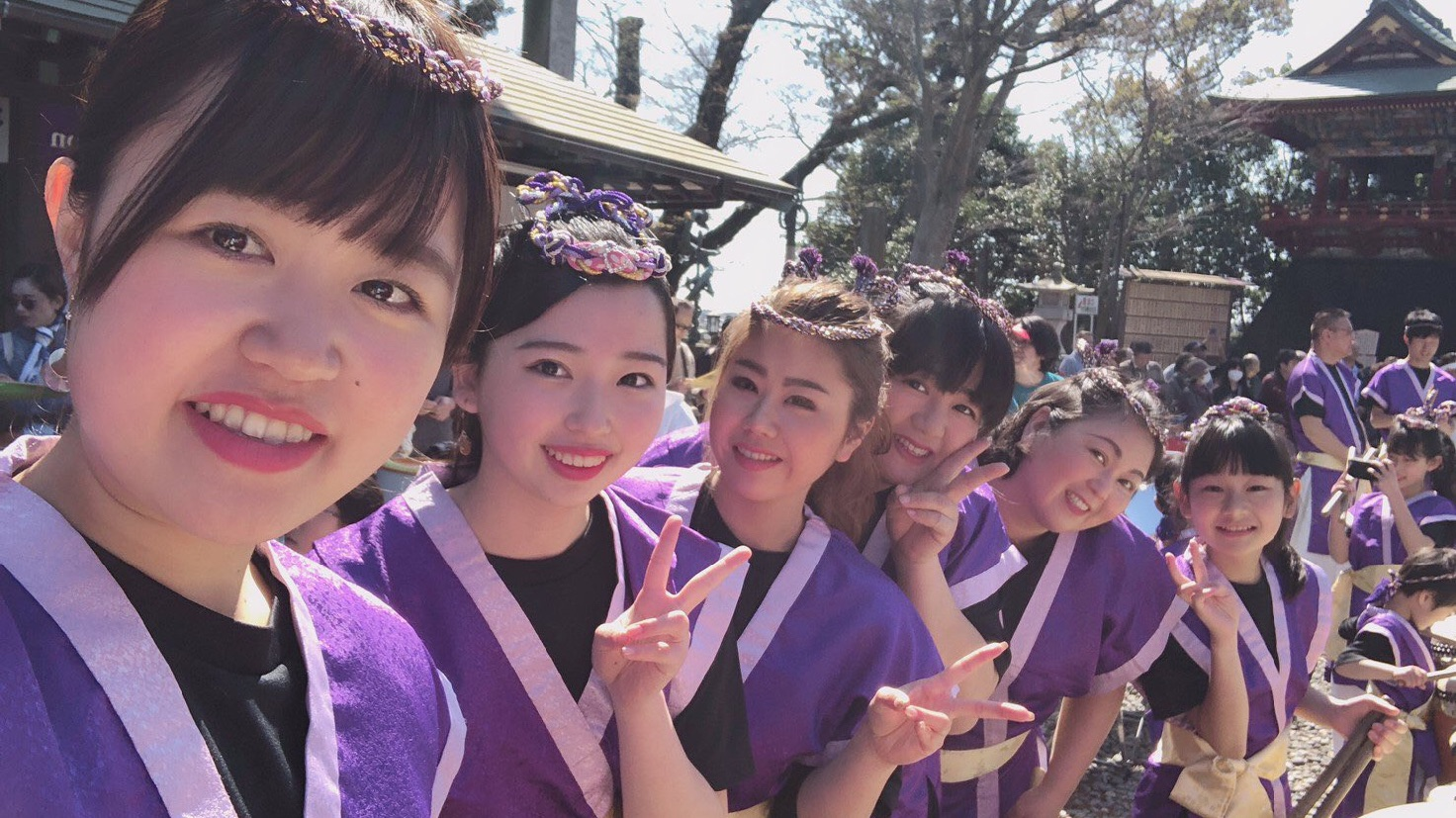 私たちは千葉市花見川区の太鼓団体です